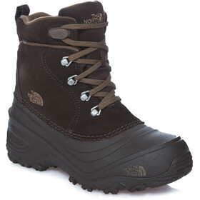 The North Face Chilkat Lace II Kozaki Dzieci, demitasse brown/cub brown